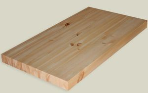 "Hardwood Lumber Company 25"" by 36"" Knotty Pine Countertop $70.88 plus shipping"