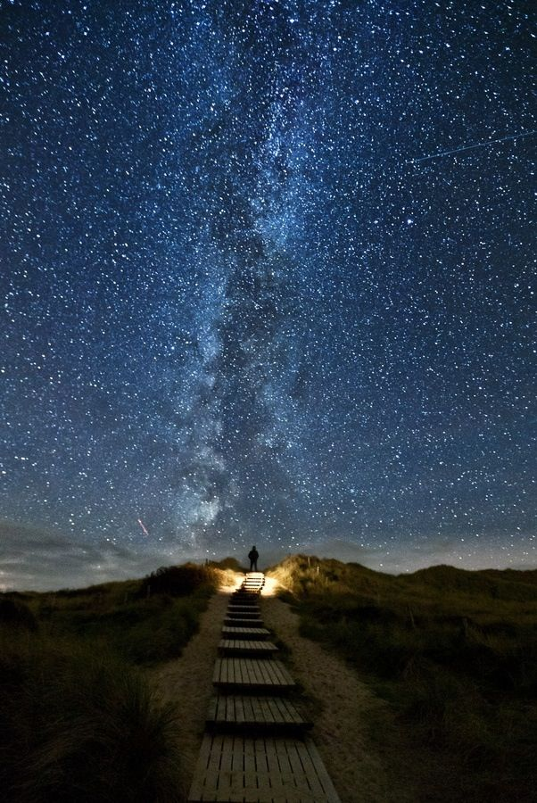 There is a place in Ireland where every two years on June 10-18 the stars line up with this bridge. It's called Heaven's Trail.