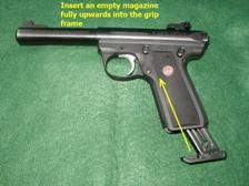 Ruger 22/45 Maintenance Procedures - Everything you need to know for maintaining your Ruger 22/45 pistol