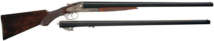 lc smith double barrel shotgun | ... smith grade 3 engraved hammerless double barrel 10 gauge shotgun