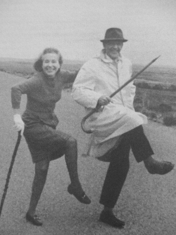 Wonderful pic of Fred Astaire and his sister 'before Ginger there was Adele'. Wonderful new biography of them both.  See my review
