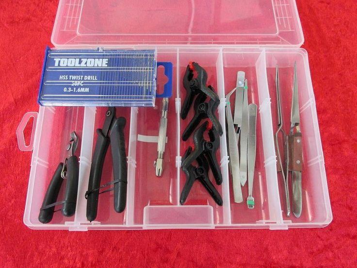 Box Set 6 Craft Model Hobby Tools Kit Suit Warhammer & Airfix Modeller & Tamiya #Varies