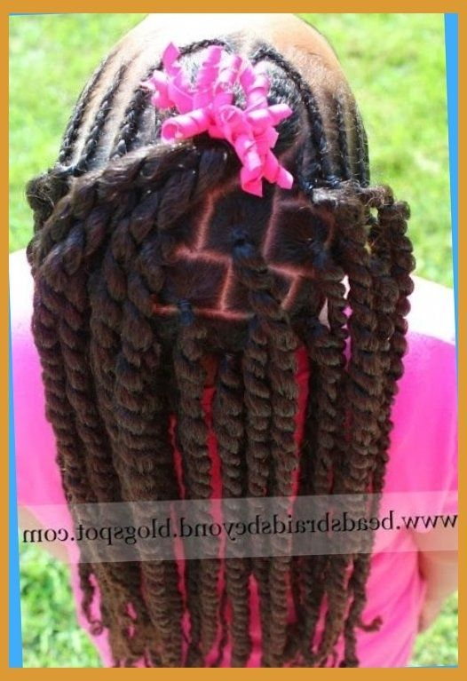 Little Black Kids Braids Hairstyles Picture inside The Incredible Along with Attractive little girl hair braiding styles african american Regarding comeliness