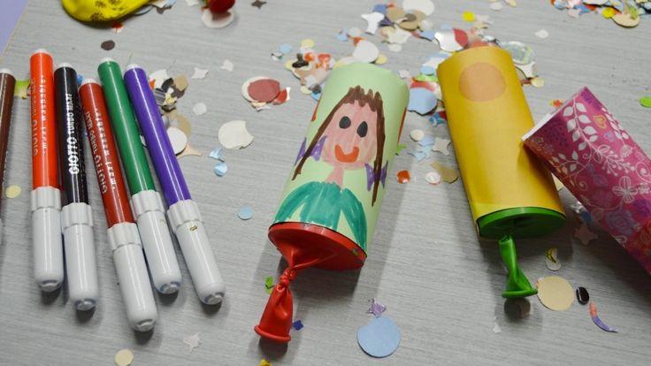 In questo tutorial scopriamo come realizzare uno sparacoriandoli di Carnevale partendo da un normale rotolo di carta igienica e utilizzando un palloncino.