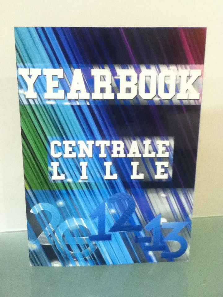 Yearbook  Centrale Lille 2012-2013