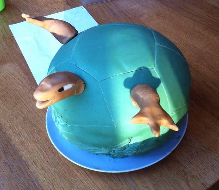 Golem pokemon cake