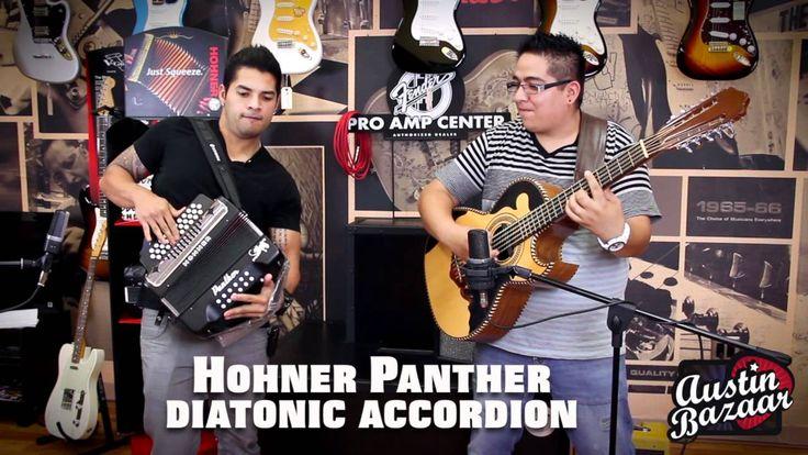 Hohner Panther Accordion Demo | AJ Castillo [Subtítulos Españoles]