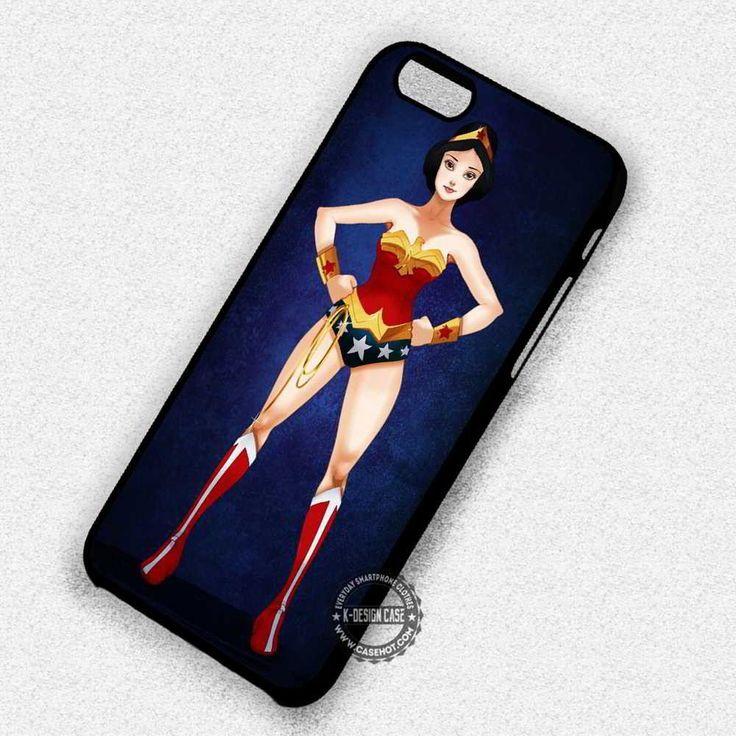 Princess Super Hero Snow White Wonder Woman - iPhone 7 6 Plus 5c 5s SE Cases & Covers