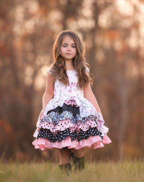 Take me to Paris girls princess party dress von SoSoHippo auf Etsy