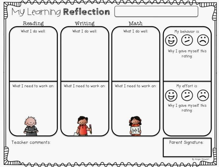 Teaching Blog Round Up: Encouraging Student Self-Reflection... With a Freebie!