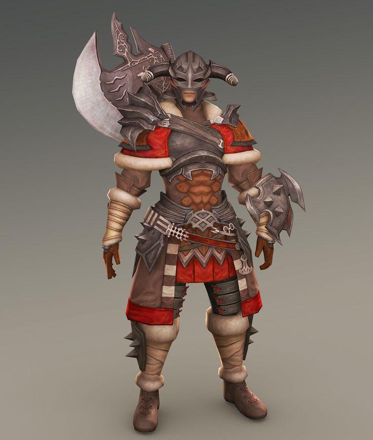 ArtStation - ffxiv warrior, Minyeong Cha