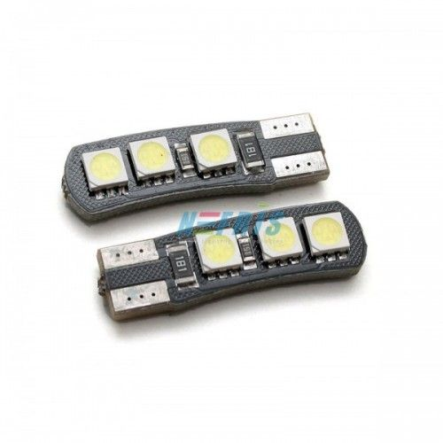 LED AUTO ŽIAROVKA 3SMD 5050 CANBUS-RESISTOR, T10