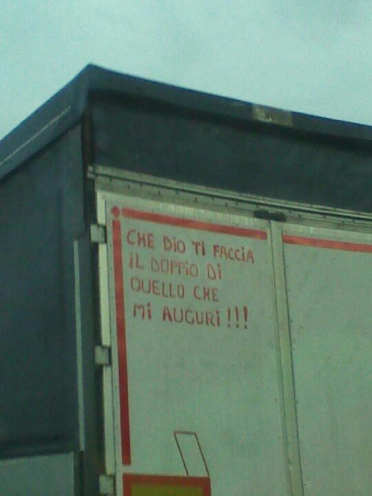 Camion un po' biliosi!
