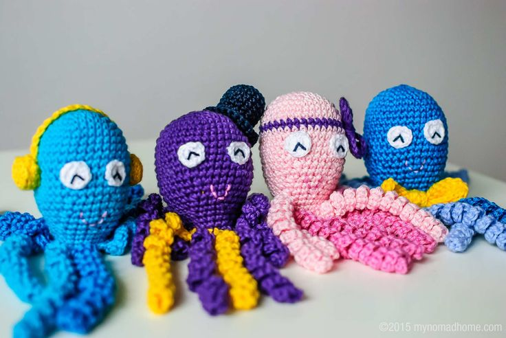 octopus for a preemie - some hospitals with NICUs collect these to give to patients