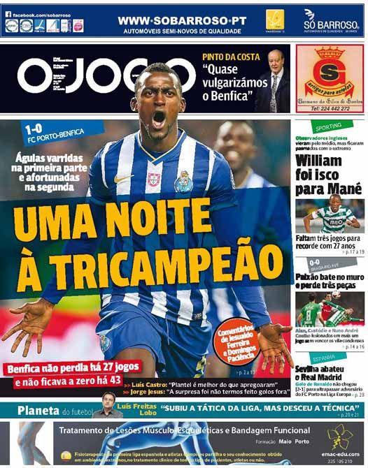 Porto Benfica - O Jogo
