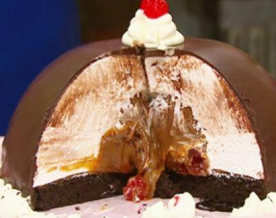 Recetas | Cocineros Argentinos - Torta malvavisco con corazón de dulce de leche                                                                                                                                                     Más