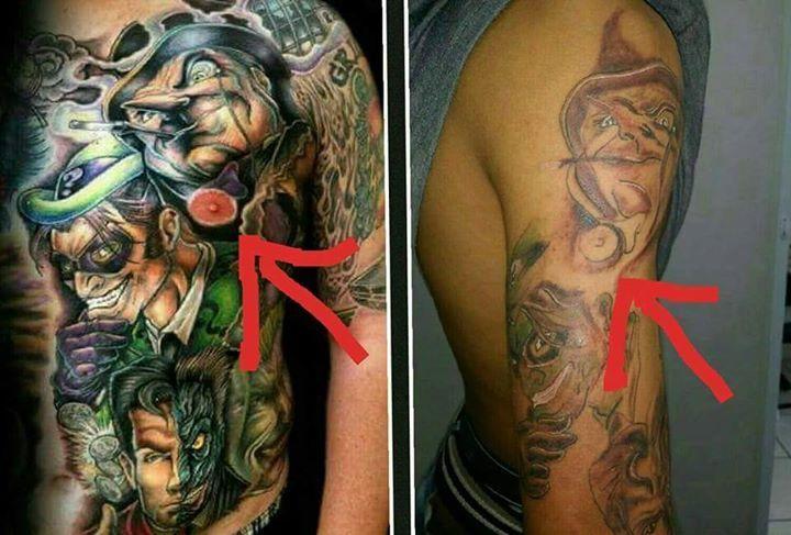 """""""Meu vizinho tatua baratinho"""""""
