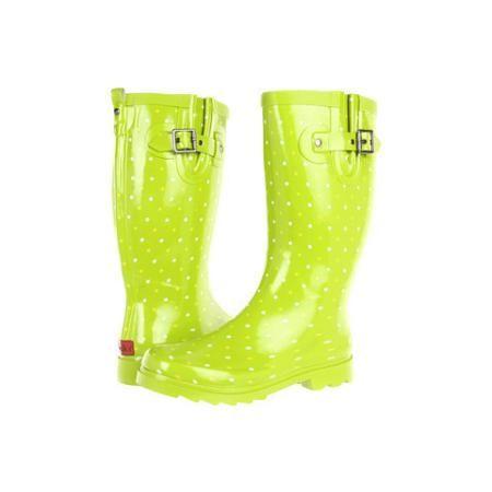 Chooka Classic Dot Rain Boot Women's Rain Boots $36.99
