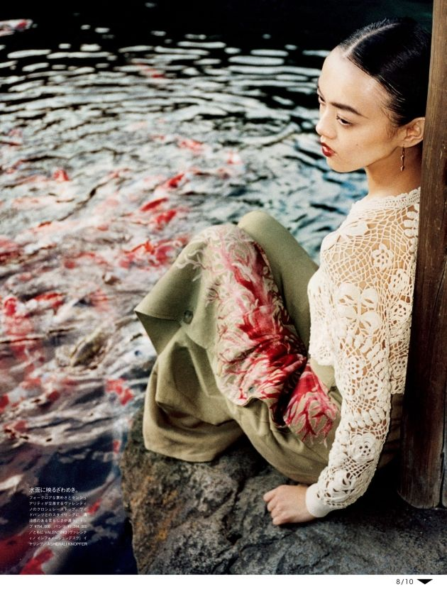 """""""A Lover's Army"""" by Tom Craig for Vogue Japan June 2015 [Editorial]"""