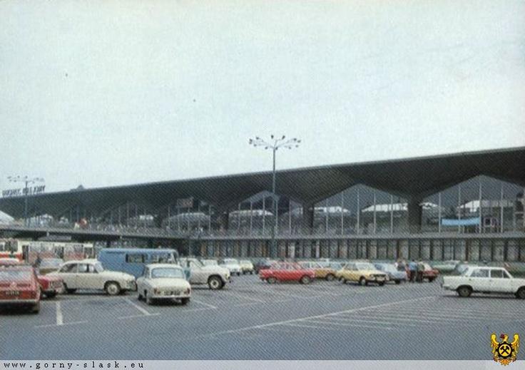 Dworzec PKP w Katowicach dawno dawno temu
