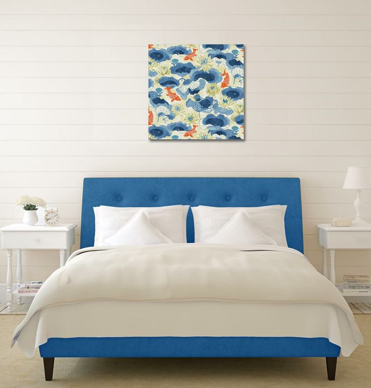 Waverly Lotus Lake (Porcelain) Creative Art Canvas — sold exclusively at Laural Home