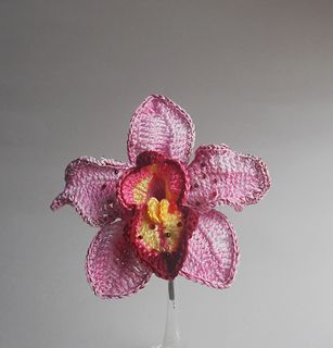 Orchid B by Creativity Claudia from The Book of Crochet Flowers 2