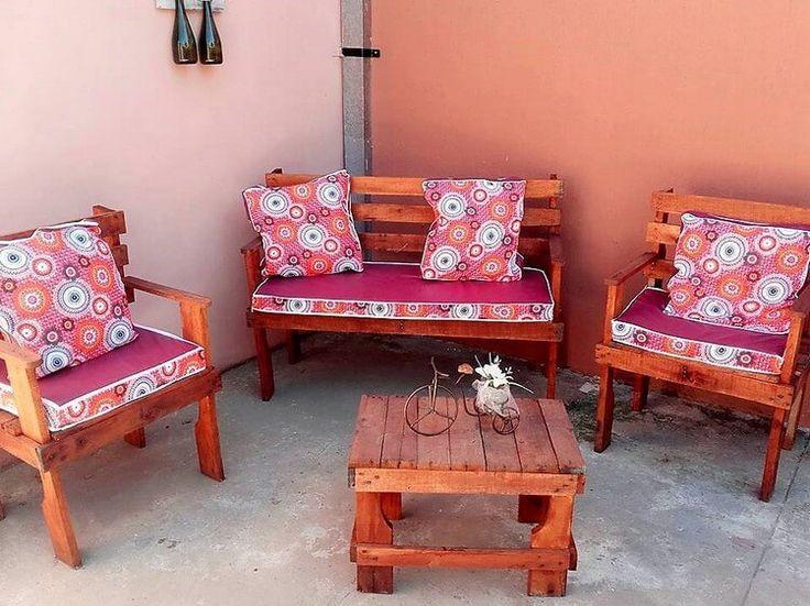558 best Pallet Outdoor Furniture images on Pinterest | Pallet ...