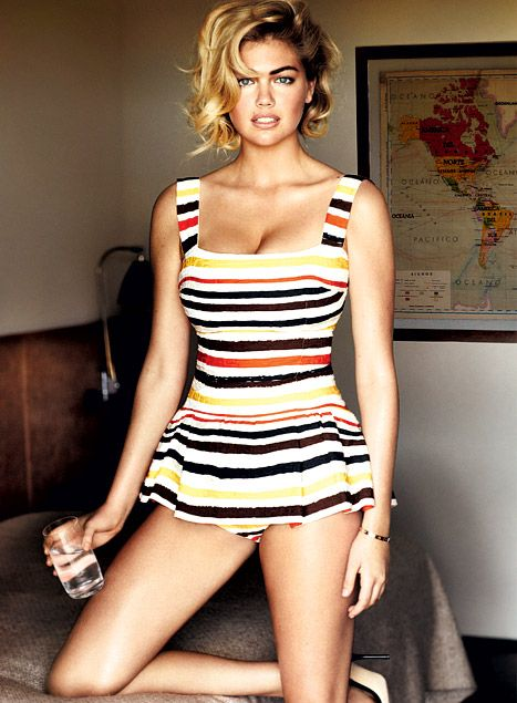 Kate Upton Vogue | Kate Upton poses for Vogue Magazine. Credit: VOGUE/Mario Testino