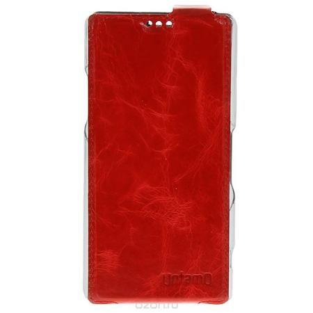 Untamo Timber чехол-флип для Sony Xperia Z1, Red (UTIMFSZ1RED)  — 146 руб. —  Ультратонкий аксессуар Untamo Timber для Sony Xperia Z1 идеально дополняя выверенные формы смартфона, чехол обеспечивает всестороннюю защиту устройству от царапин и загрязнений. Пластиковая рамка-держатель надежно фиксирует смартфон, оберегая его боковые стороны и углы. Деликатная внутренняя отделка из микрофибры создает дополнительную защиту сенсорному экрану, деликатно удаляет следы от пальцев и пыль. Чехлы…