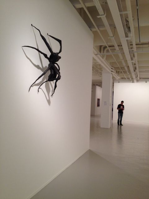 Spider I, 1995. Louise Bourgeois. Annette Messager. 'Secret Passions exhibition' @ Tripostal (Lille, France)
