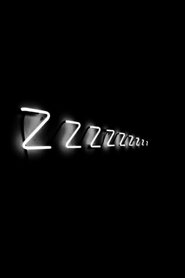 Black and white Wallpaper {good night} 😂