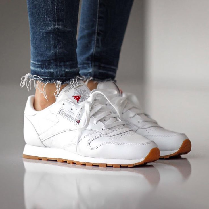 reebok classic leather plaid decor