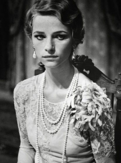 Charlotte Rampling, the Twilight of the Gods by Visconti, 70s