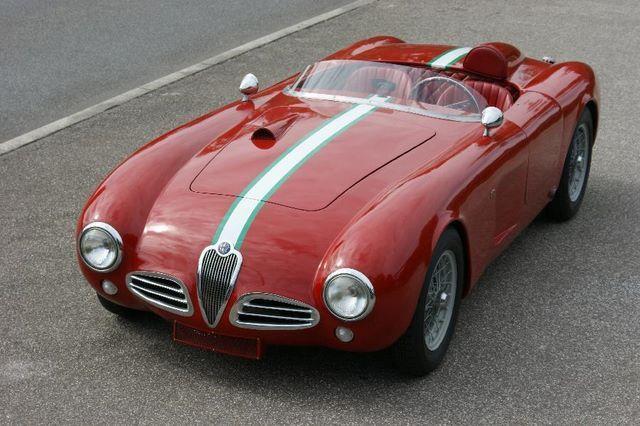 Alfa Romeo 1900 Barchetta (1953)                                                                                                                                                                                 Más