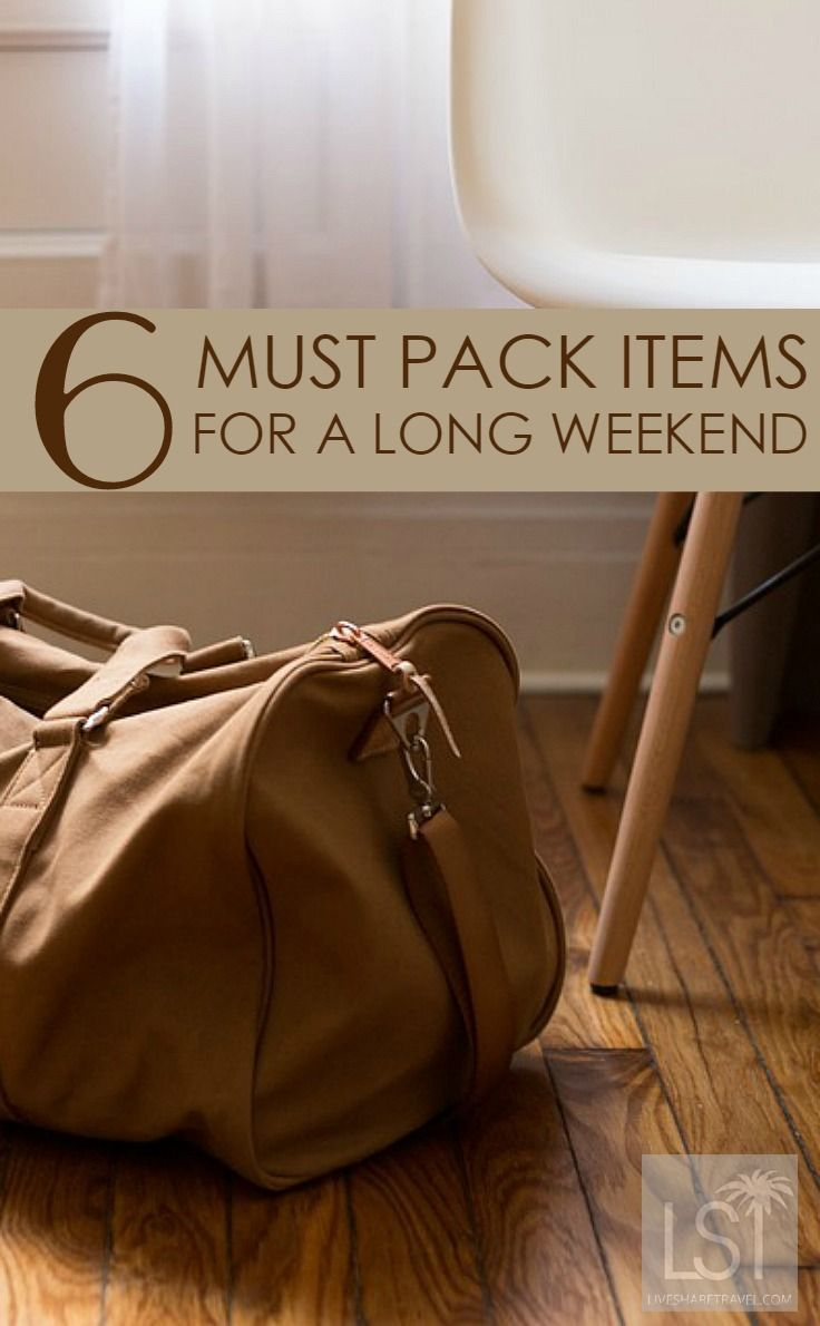 #3. Use a softshell backpack or holdall for easier packing and to fit more around the edges. There is nothing quite like the excitement of finishing work on a Friday, with the promise of a long weekend adventure to look forward to. Discover all 6 packing tips in our stress-free guide to travel packing for a long weekend away.