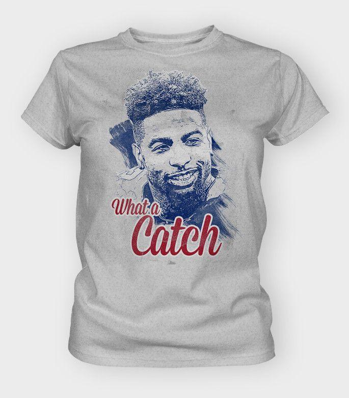What A Catch Women's T-Shirt | Odell Beckham Jr Gear
