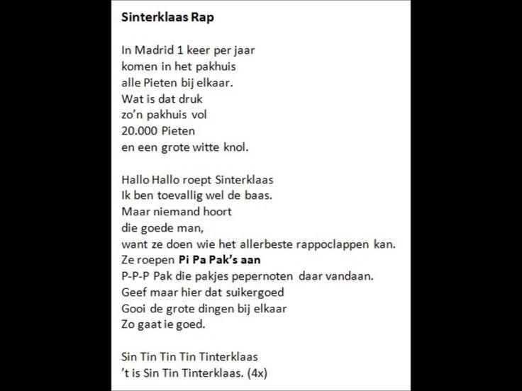 Sinterklaas Rap
