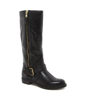 Image 1 of Dune Tammy Leather Riding Boots