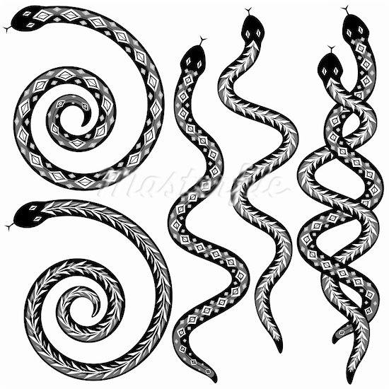 snakes - aboriginal art