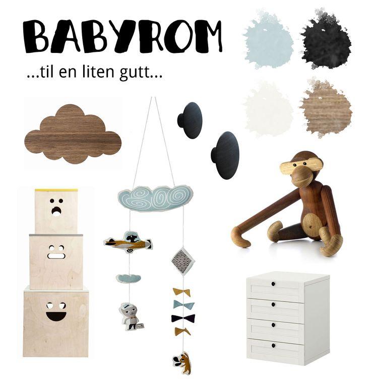 Inspirasjon: Babyrom