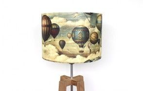 Vintage balloon lamp shade  www.waringsathome.co.uk