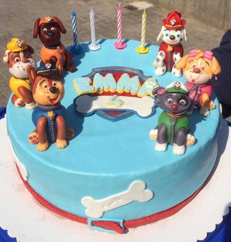 Kennt Ihr die Truppe von Paw Patrol? Diane hat die ganze Nacht an dieser coolen Torte gebastelt. Ihr Patenkind wird sich bestimmt freuen :) #tolletorten #pawpatrol #torte  http://www.tolletorten.com/Fondant-Marzipan-Co:::409.html