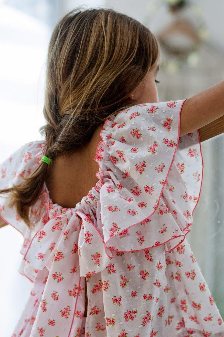 Floral boho, super chic. No sin Valentina #estella #kids #fashion