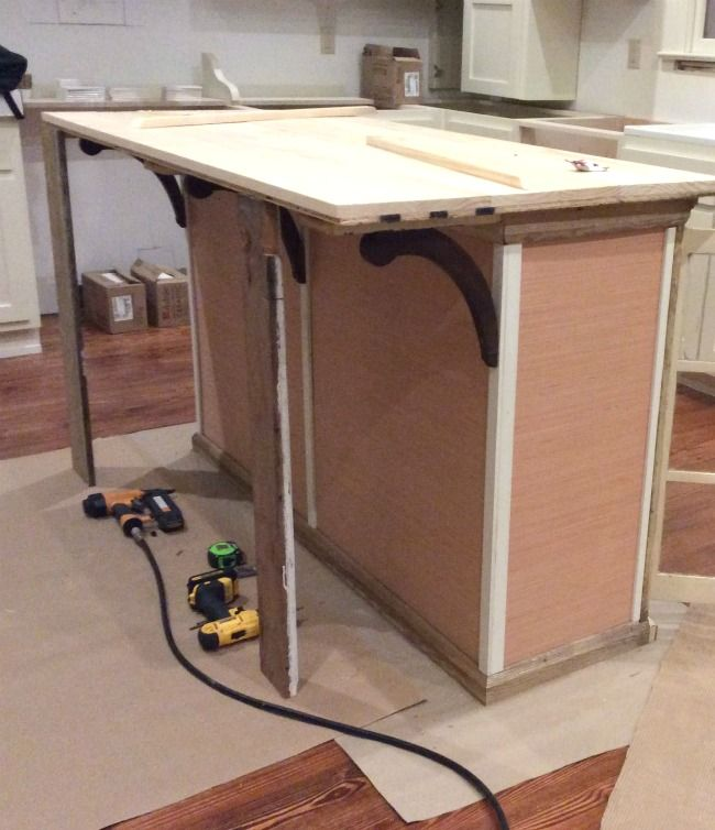 Build Michaela S Kitchen Island Diy Projects: Alternative Programming Or How To DIY A Kitchen Island