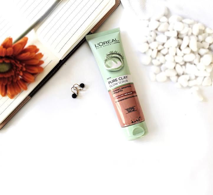 A review on the L'Oreal Pure Clay Glow Scrub