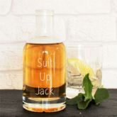 Personalised Best Man Proposal Glass Decanter