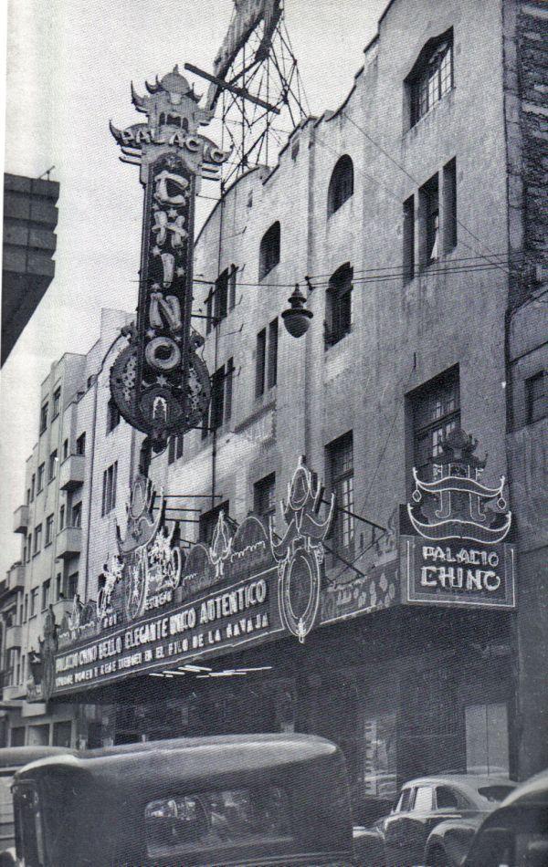 cine palacio chino - Mexico City