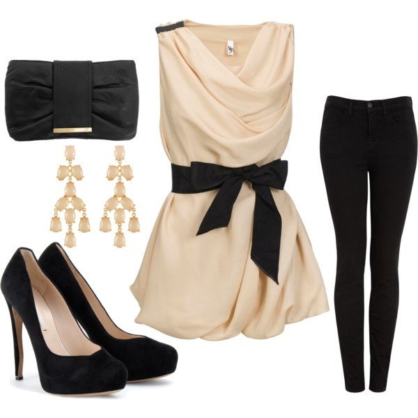 """""""night out"""" by merara on Polyvore #meocuencaSTYLE - different pants"""
