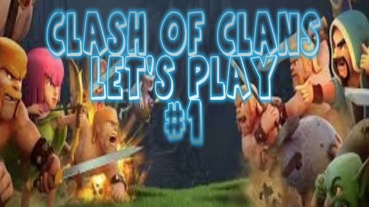 starting new Clash of clans let's play series on #youtube this is the first episode :)