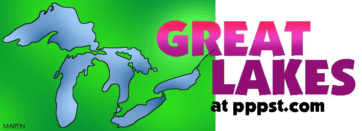 Canada: Ontario: The Great Lakes - Geography at pppst.com - FREE powerpoints, interactive activities games, lessons